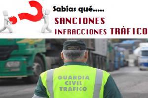 Sanciones tráfico